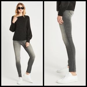 MOTHER Jeans - 💕MOTHER💕 High Waisted Looker Skinny Jeans Gray